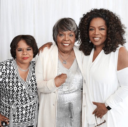 Oprah and her mom