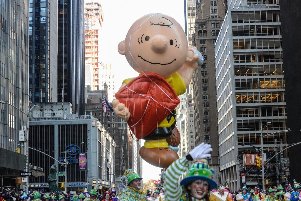 Macy's Thanksgiving Day Parade Charlie Brown Balloon