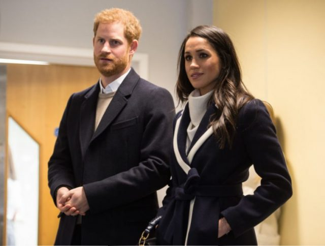 Prince Harry and Megan Mark visit Birmingham