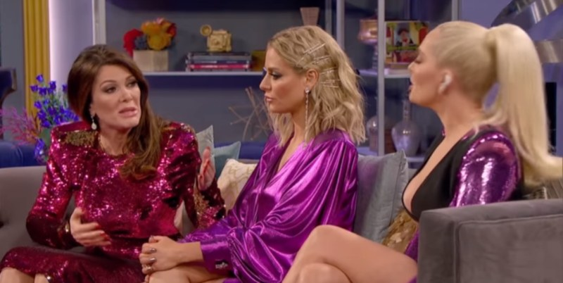Lisa Vanderpump, Dorit Kemsley, and Erika Girardi on Real Housewives of Beverly Hills