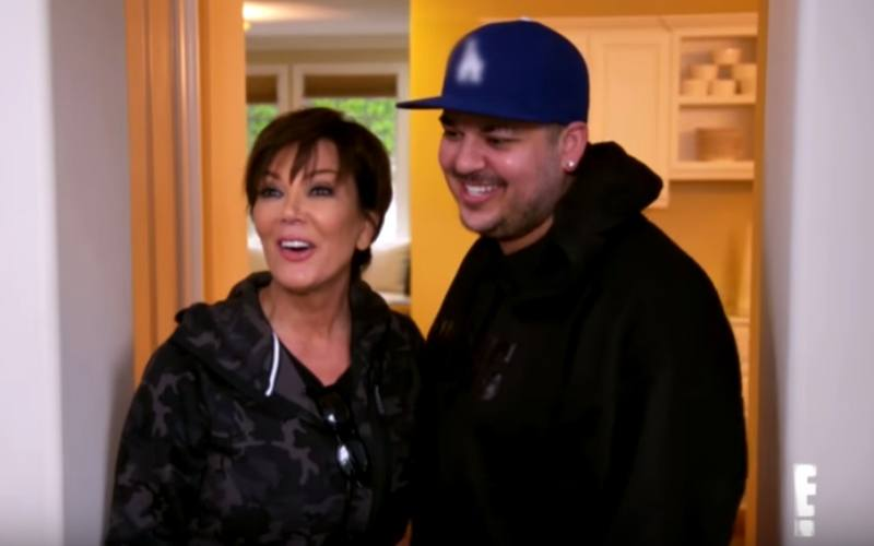Rob Kardashian and Chris Jenner
