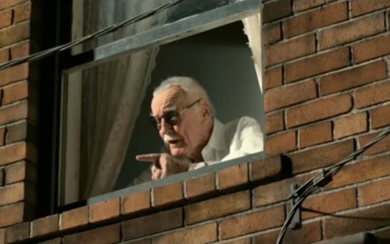 Stan Lee in Spider-Man: Homecoming