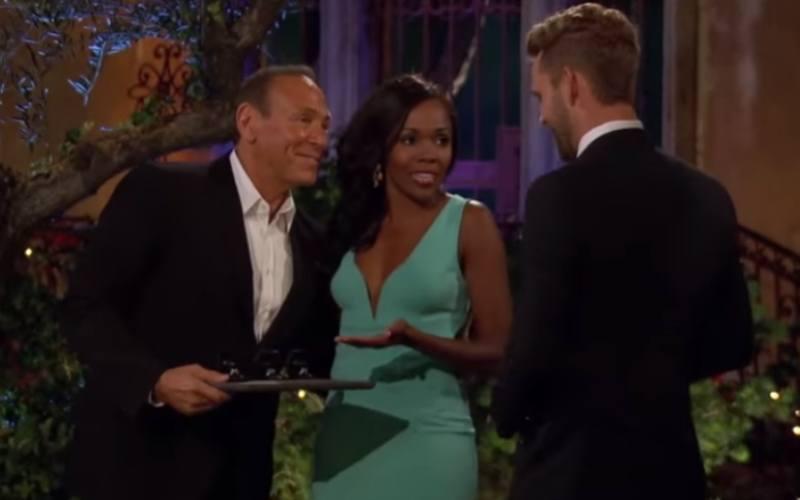 Neil Lane, Jasmine Goode, Nick Viall on The Bachelor