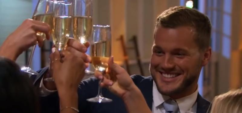 Colton Underwood in The Bachelor