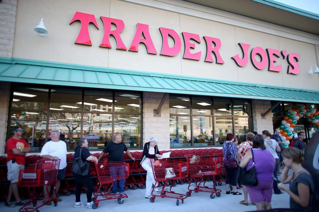 trader joe's shoppers