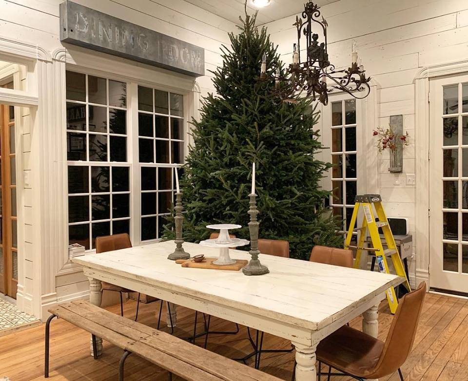 Chip and Joanna Gaines Christmas tree