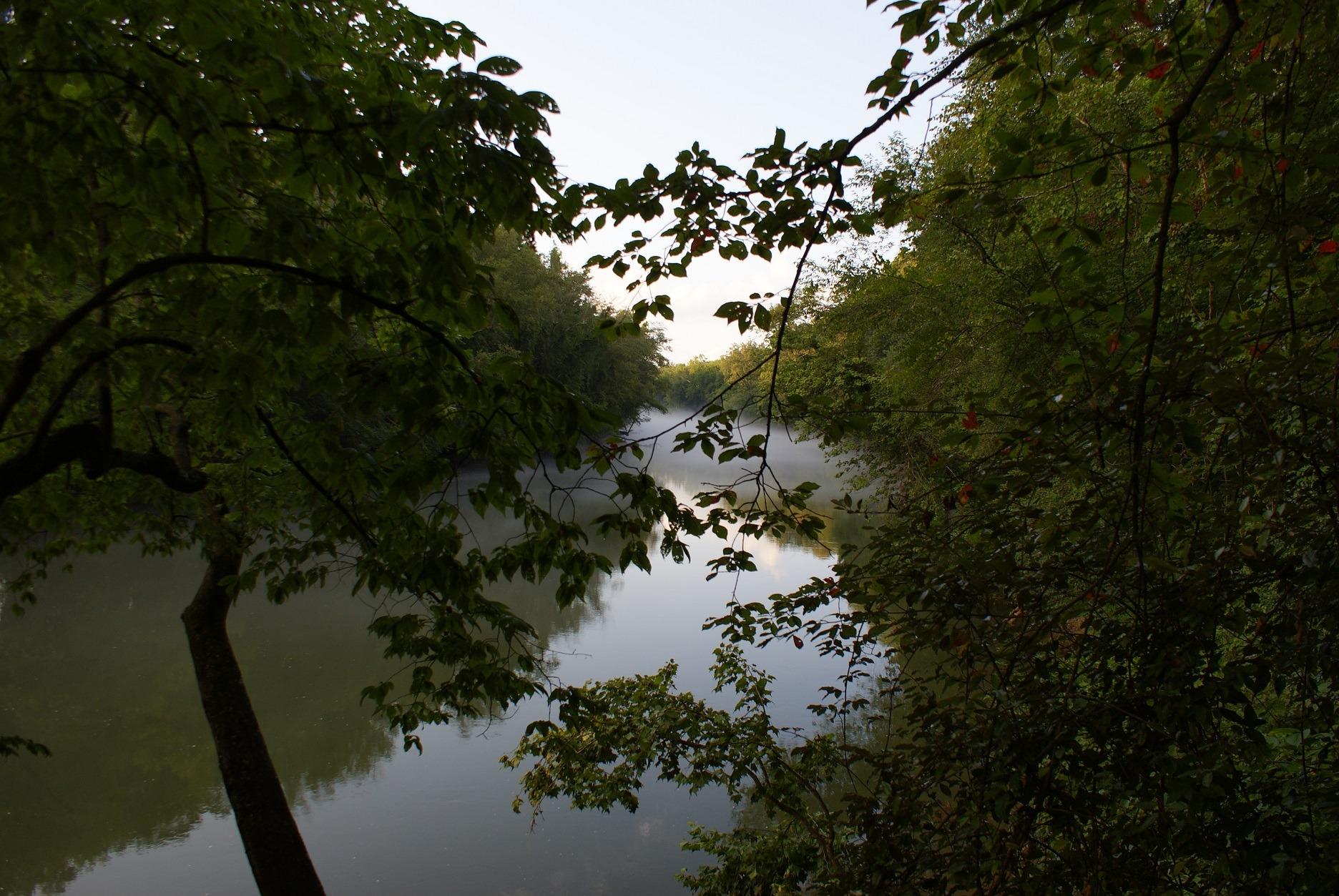The Chattahoochee River in Georgia.