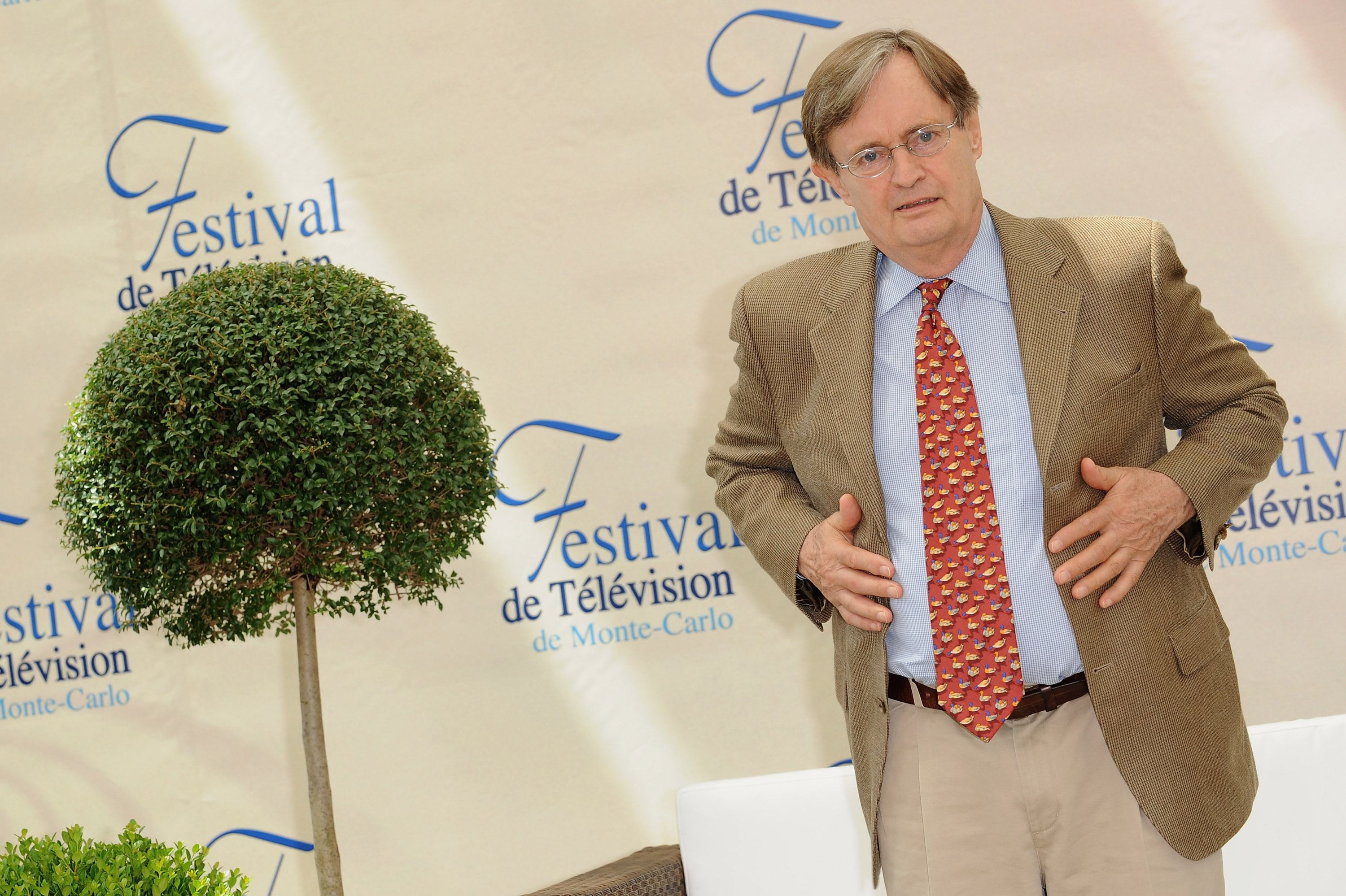 David McCallum at the 2009 Monte Carlo Television Festival