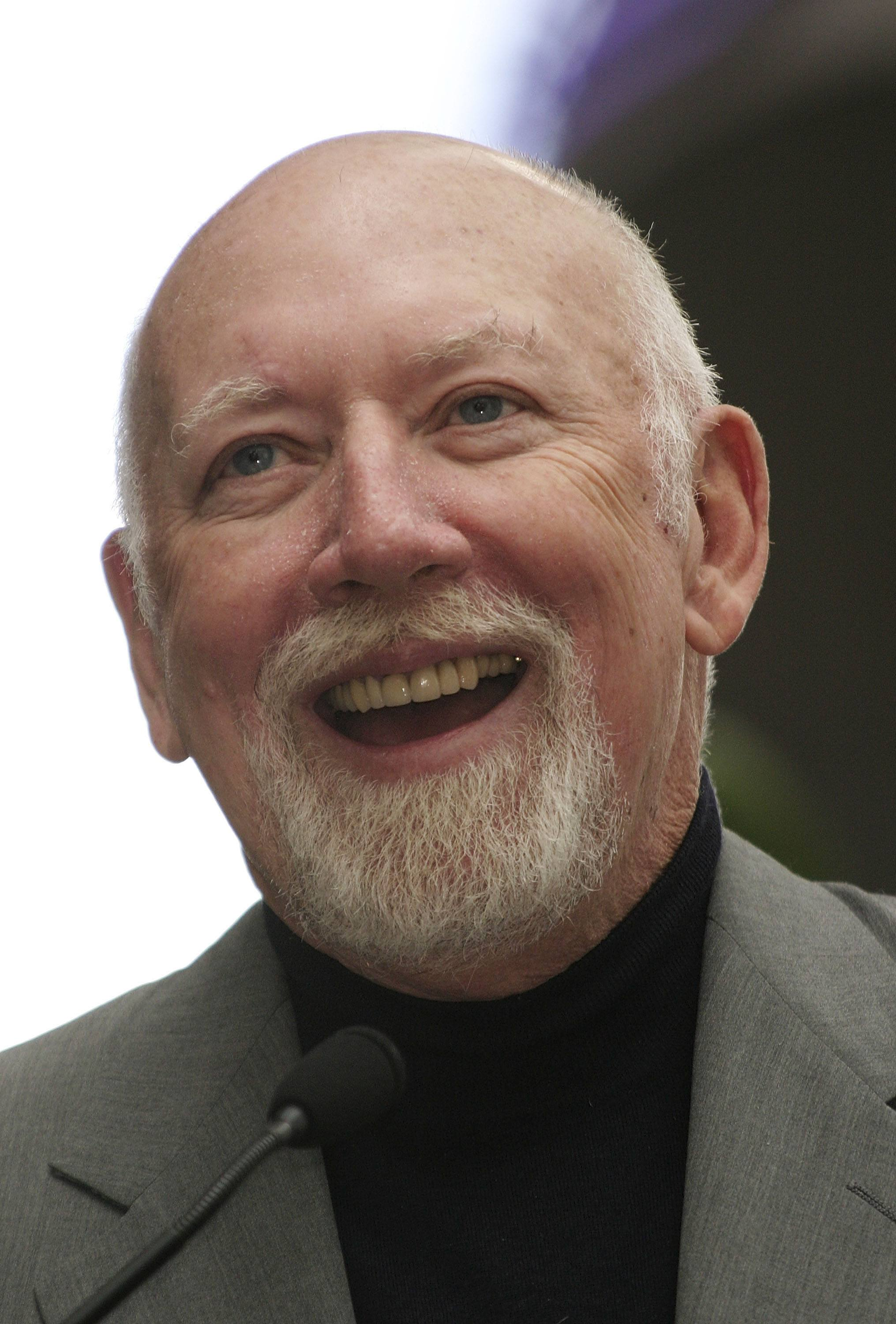 Donald Bellisario smiling