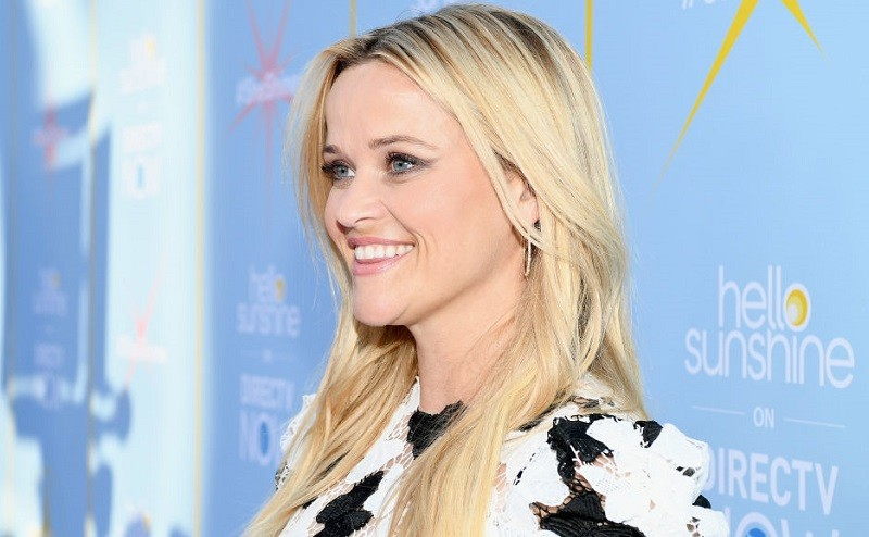 """Reese Witherspoon attends the AT&T and Hello Sunshine launch celebration of """"Shine On With Reese"""" and """"Master The Mess"""" at NeueHouse Hollywood on August 6, 2018 in Los Angeles, California."""