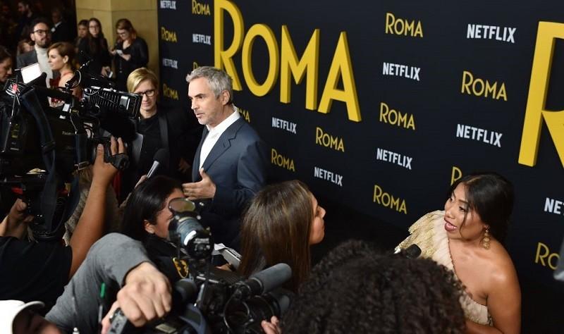 Roma director Alfonso Cuaron has lots of Oscars buzz