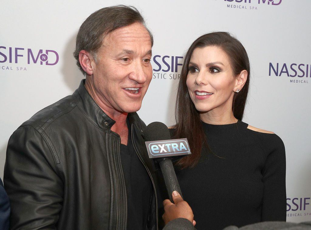 Dr. Terry Dubrow and wife Heather Dubrow