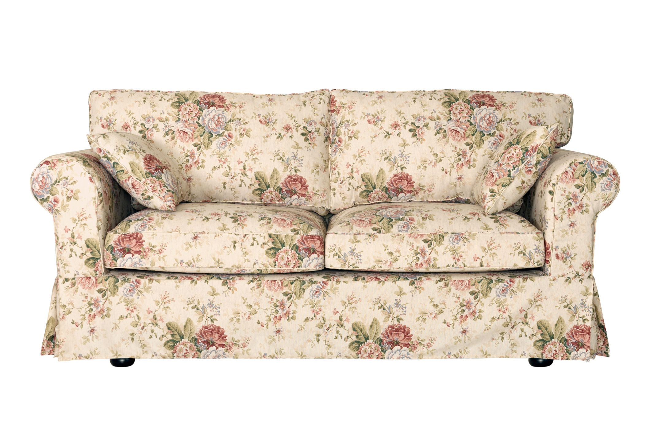 Floral couch sofa
