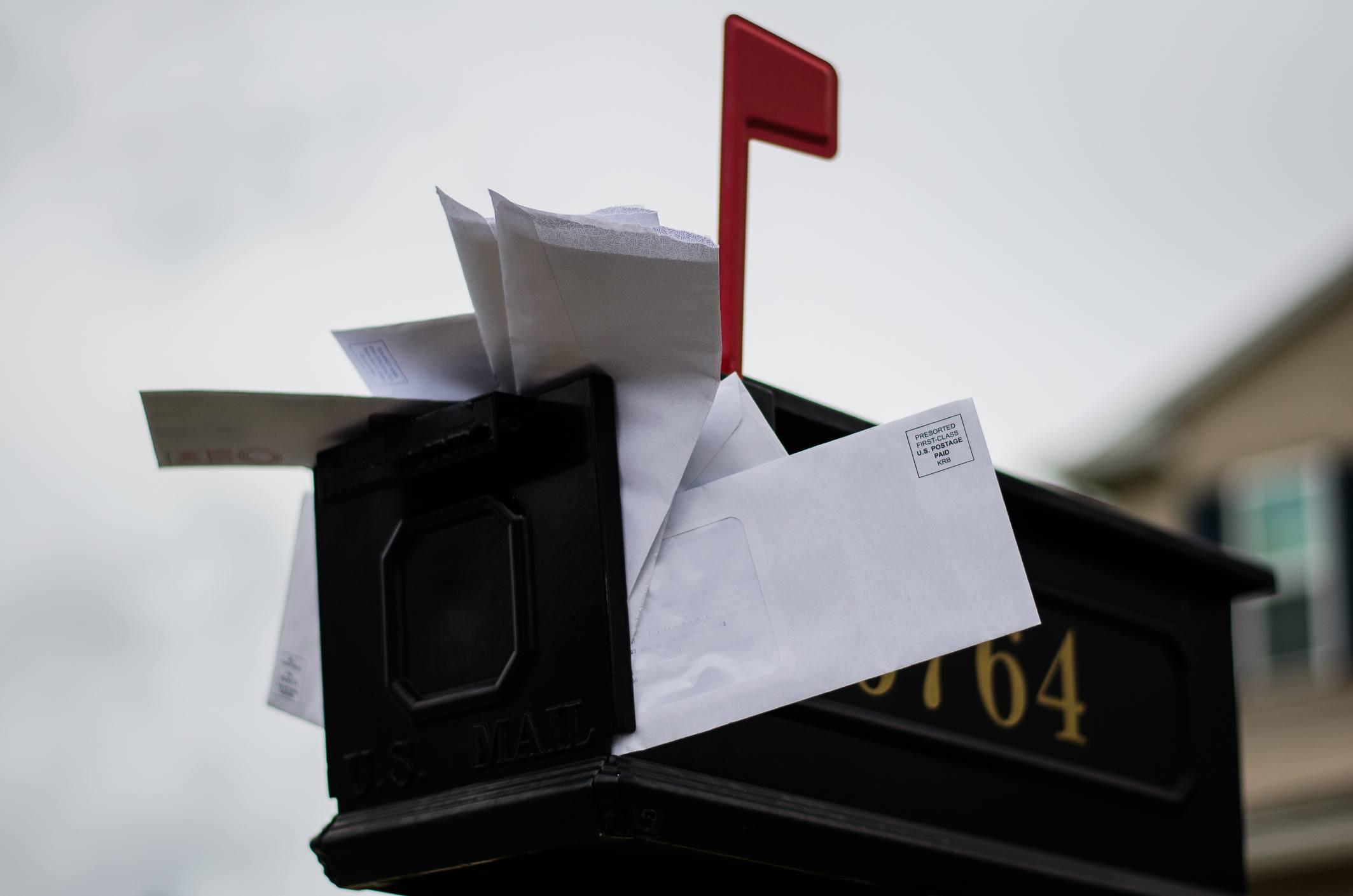 Overflow mailbox