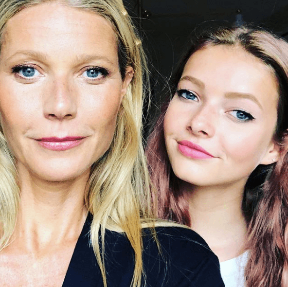 Gwyneth Paltrow and daughter Apple Martin