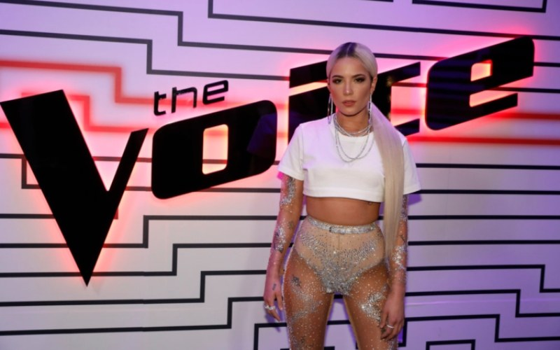 Halsey on The Voice