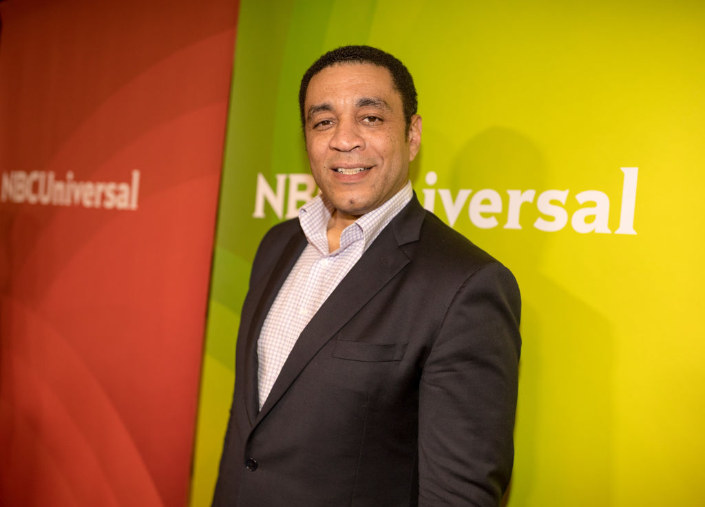 The Blacklist star Harry Lennix attends a press event in 2018.