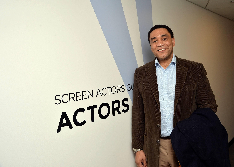 Harry Lennix at a 2014 Screen Actors Guild event in New York City