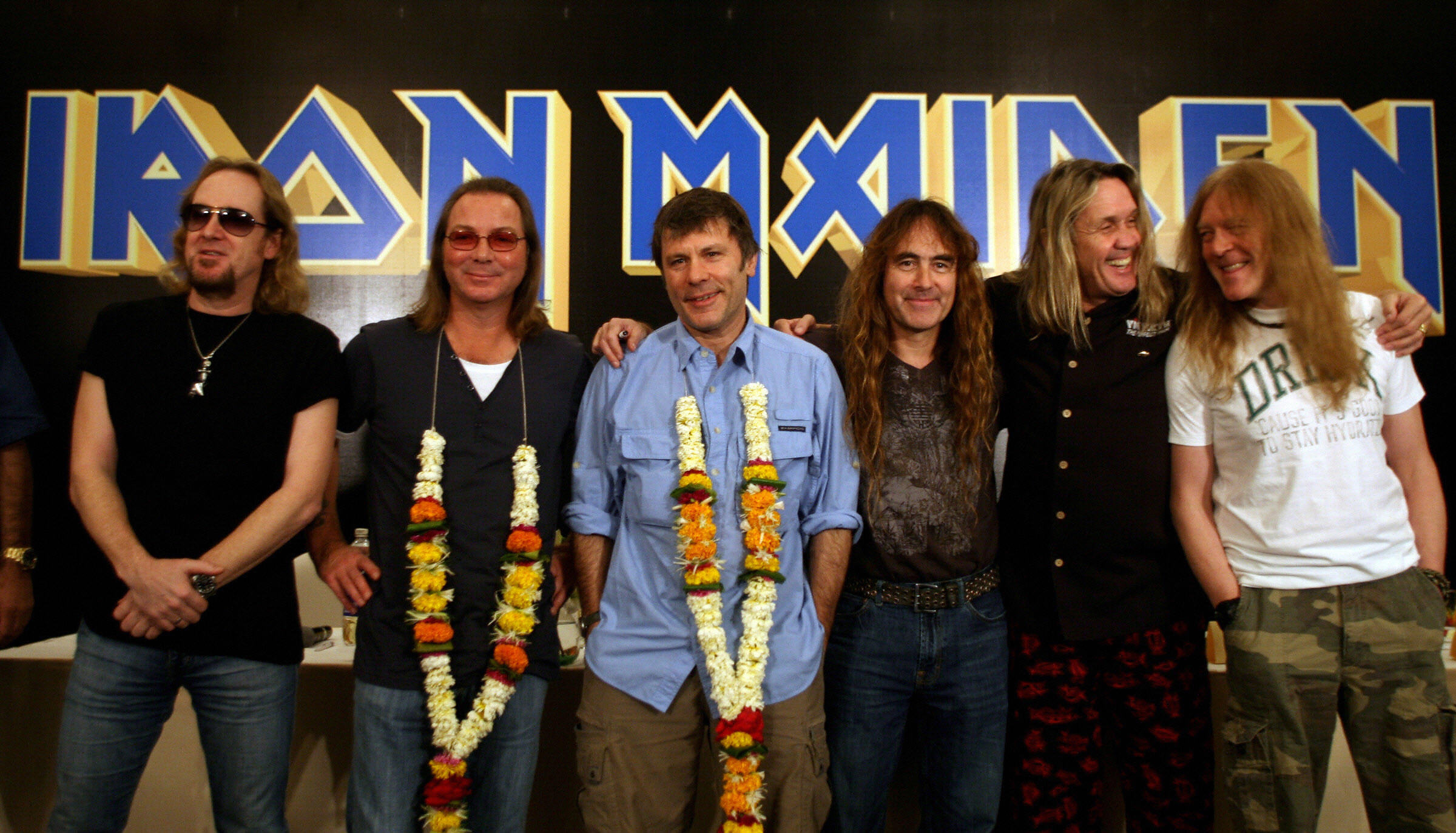 Iron Maiden's net worth is through the roof.