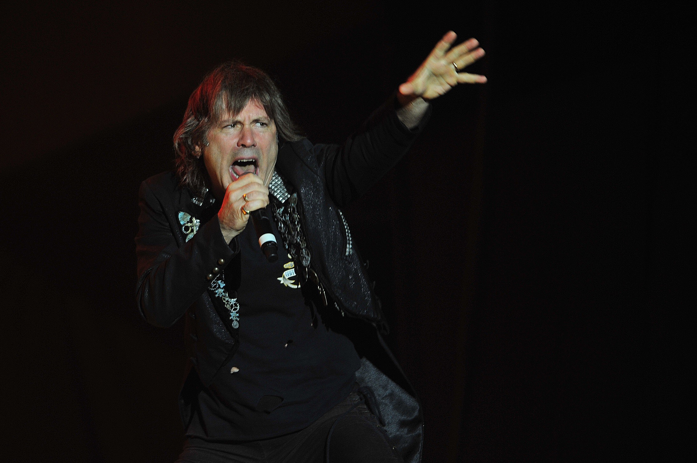 Bruce Dickinson is the richest member of Iron Maiden.