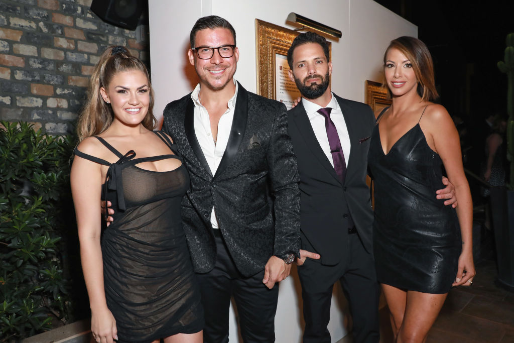 Brittany Cartwright, Jax Taylor, Brian Carter, and Kristen Doute attend Comedy Central's Emmys Party at The Highlight Room at the Dream Hotel on September 16, 2018 in Hollywood, California.