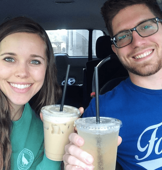 Jessa Duggar with her husband, Ben Seewald