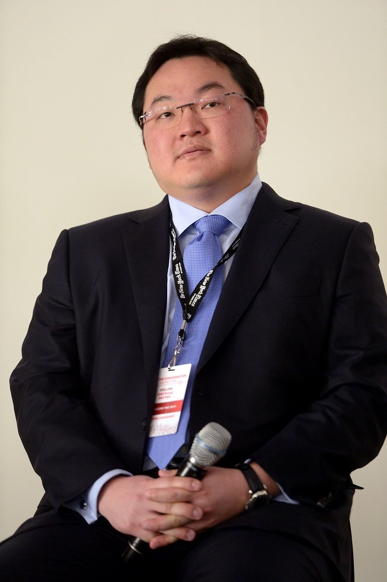 Jho Low speaks at The New York Times Health For Tomorrow Conference in 2014.