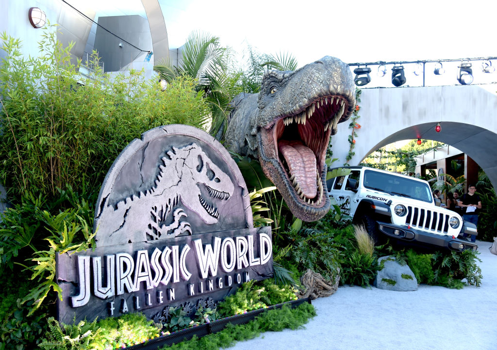 """Premiere of Universal Pictures and Amblin Entertainment's """"Jurassic World: Fallen Kingdom"""" at the Walt Disney Concert Hall on June 12, 2018 in Los Angeles, California."""