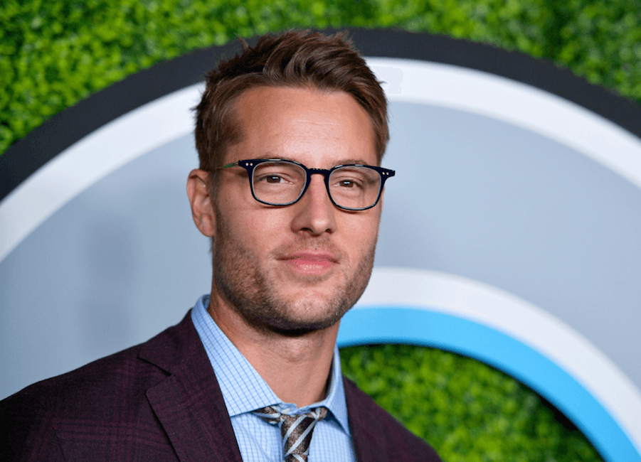 Justin Hartley posing for the camera
