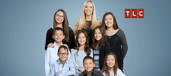 Kate Gosselin with kids