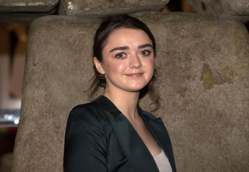 Game of Thrones actor Maisie Williams attends the 2018 premier of the movie Early Man.