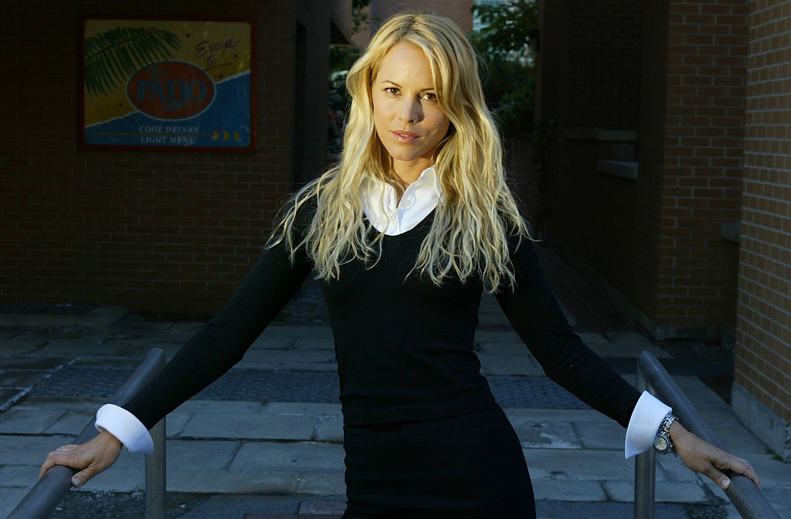 Maria Bello in 2003.