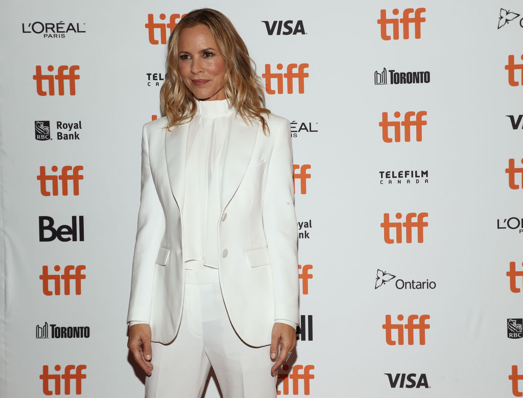Maria Bello at the 2018 Toronto International Film Festival