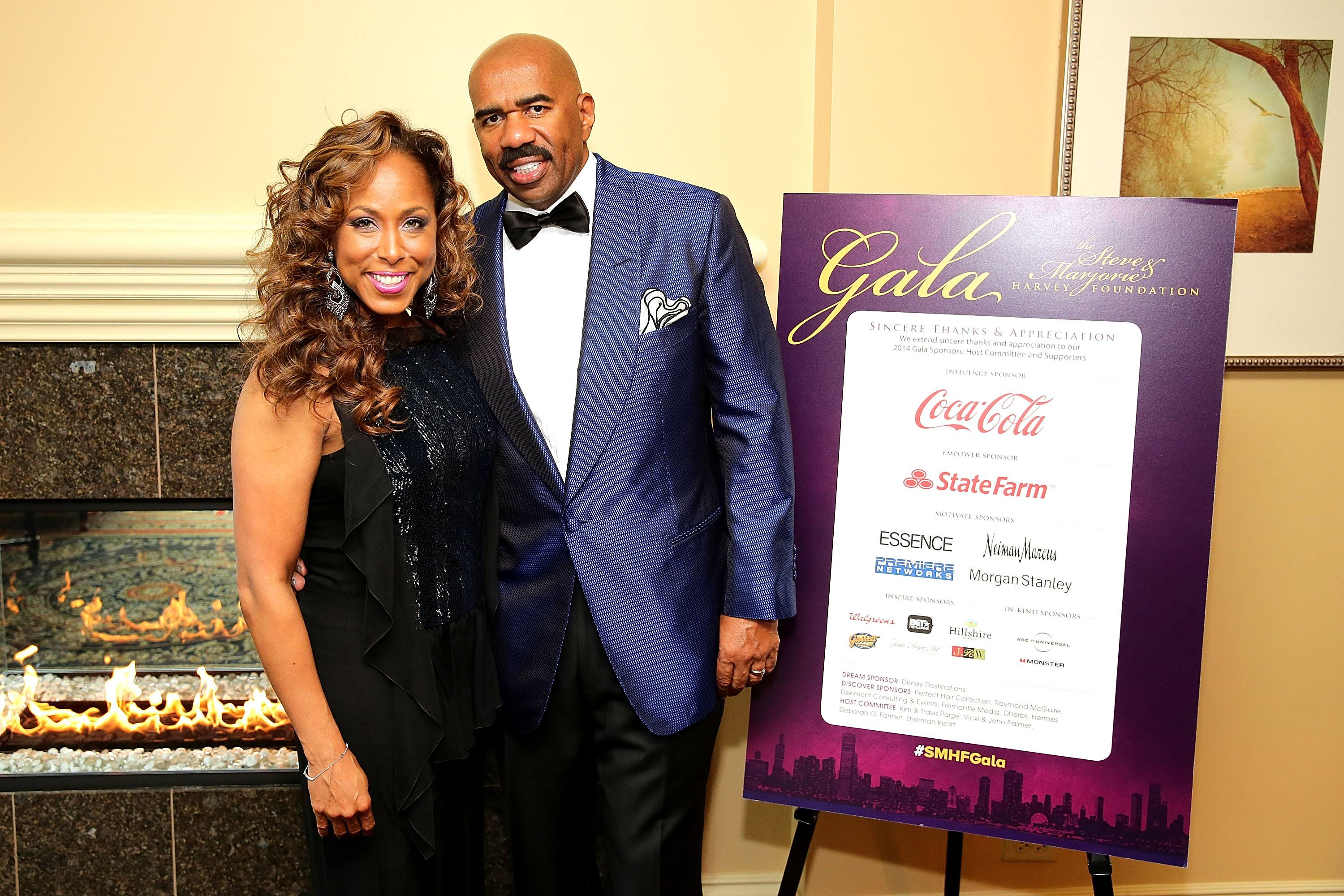Marjorie Elaine Harvey Who Is Steve Harveys Wife