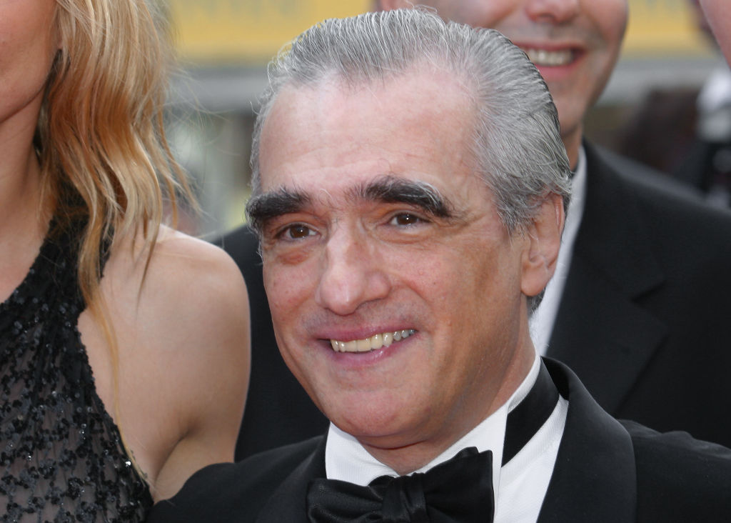 Martin scorsese at the Canne Film Festival in 2002.