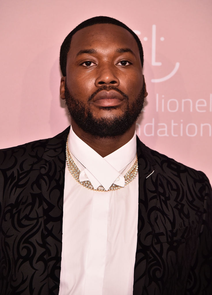 Meek Mill attends Rihanna's 4th Annual Diamond Ball at Cipriani Wall Street on September 13, 2018 in New York City.