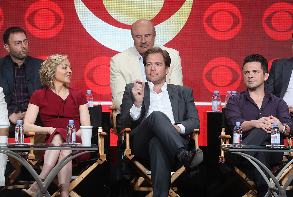 'Bull' actor Michael Weatherly talks about the show at a 2016 panel discussion.