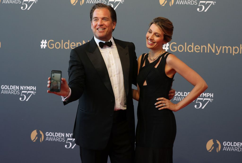 Former NCIS actor Michael Weatherly and wife Bojana Jankovic.