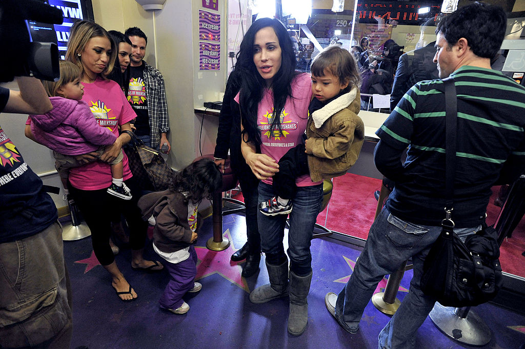 Nadya Suleman and her family