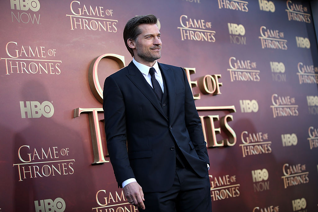The 2015 premiere of Game of Thrones with Nikolaj Coster-Waldau