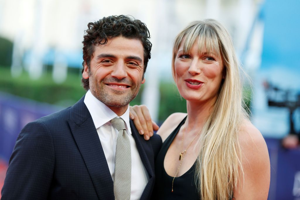 Oscar Isaac and his wife Elvira Lind.