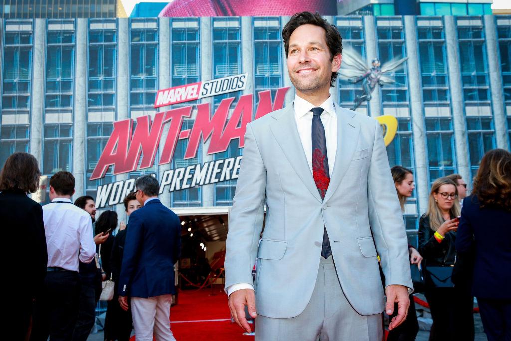 Ant-Man actor Paul Rudd