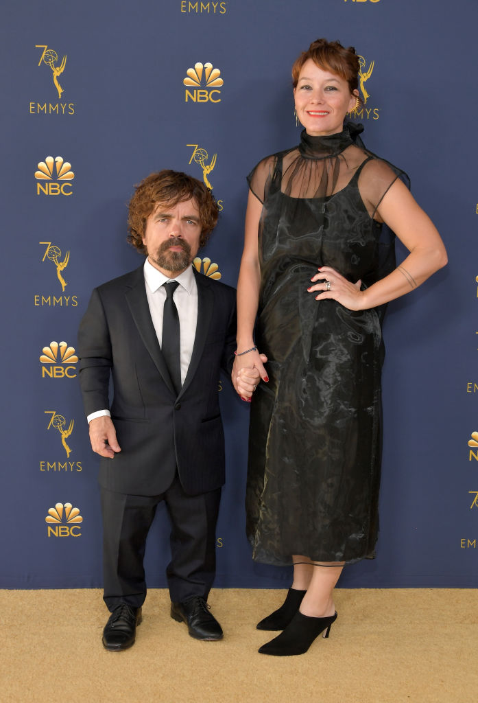 'Game of Thrones' star Peter Dinklage with his wife Erica Schmidt