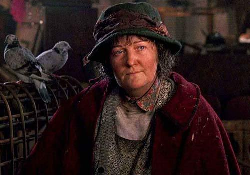 "Pigeon Lady in ""Home Alone 2"""