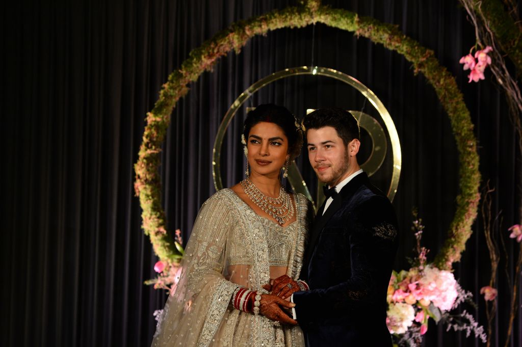 Priyanka Chopra and Nick Jonas wedding picture