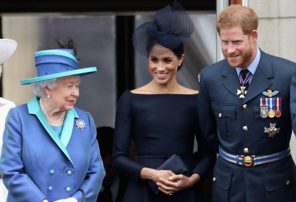 Queen Elizabeth II, Meghan, Duchess of Sussex, Prince Harry, Duke of Sussex