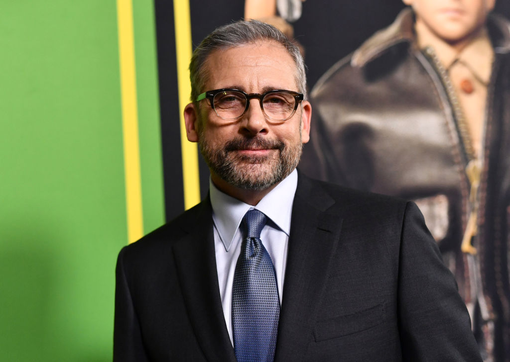 """Steve Carell attends Universal Pictures and DreamWorks Pictures' premiere of """"Welcome To Marwen"""" at ArcLight Hollywood on December 10, 2018 in Hollywood, California."""