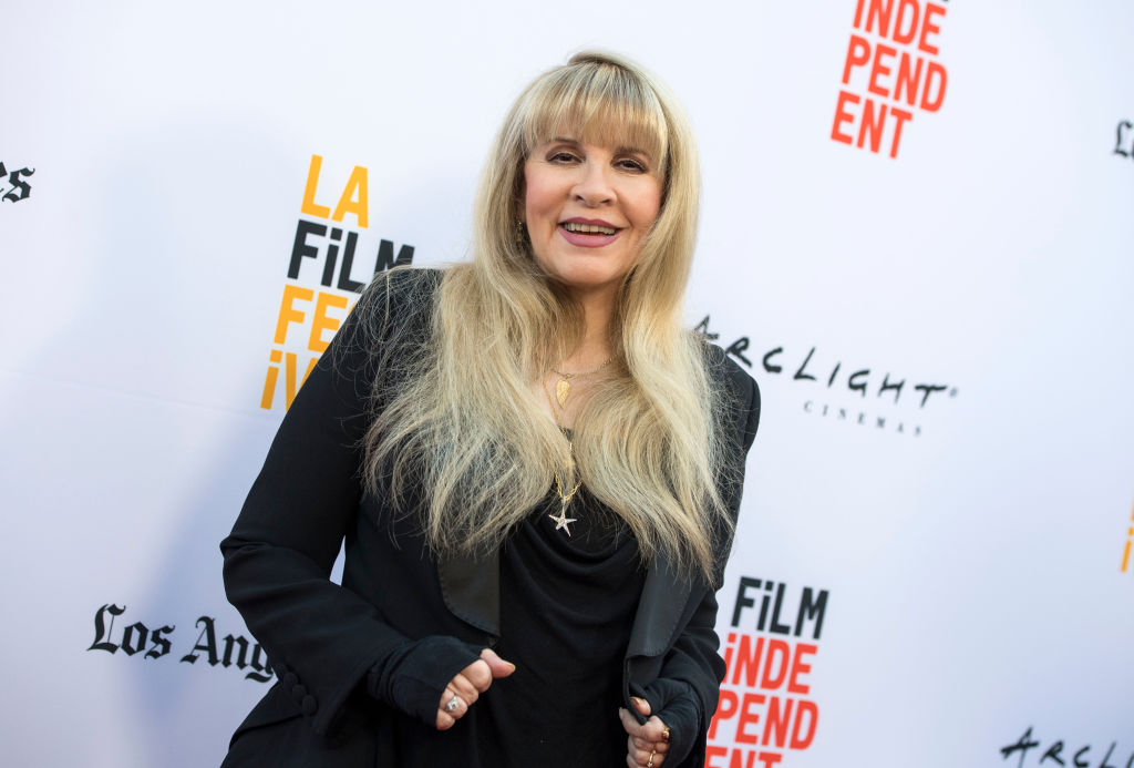Stevie Nicks at the Los Angeles Film Festival in 2017.