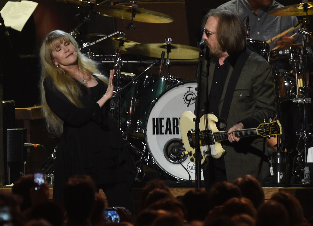 Stevie Nicks performs with Tom Petty in 2017.