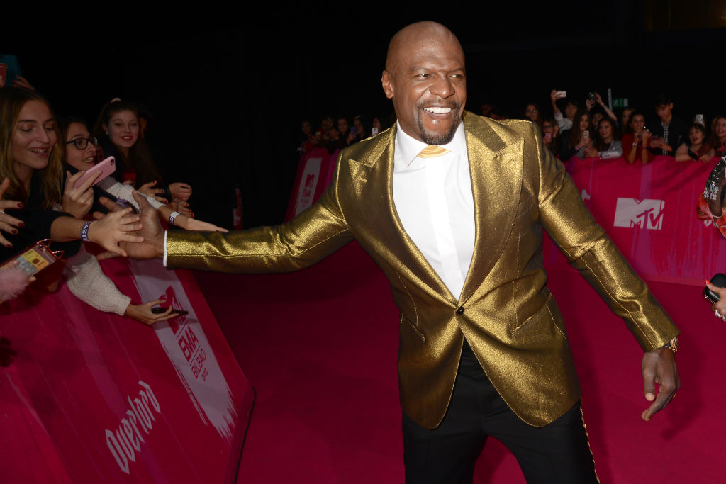 Terry Crews attends the MTV EMAs 2018 at the Bilbao Exhibition Centre (BEC) on November 04, 2018 in Bilbao, Spain.